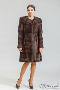 Норковое пальто А-09 (С)